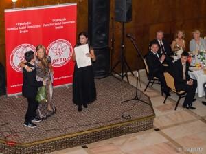 Onelia Pescaru la editia 2013 a balului Talente de Azi pentru Brasovul de Maine
