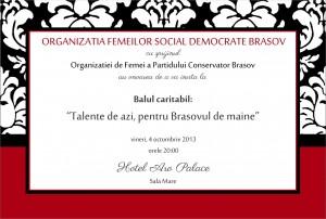 INVITATIE PSD fatza 1 300x202 Invitatie la Balul de Caritate Talente de Azi pentru Brasovul de Maine