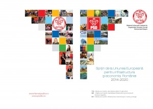 Coperta Finala net 300x213 OFSD Brasov a lansat brosura de informare Sprijin de la Uniunea Europeana pentru infrastructura si economia Romaniei 2014 2020